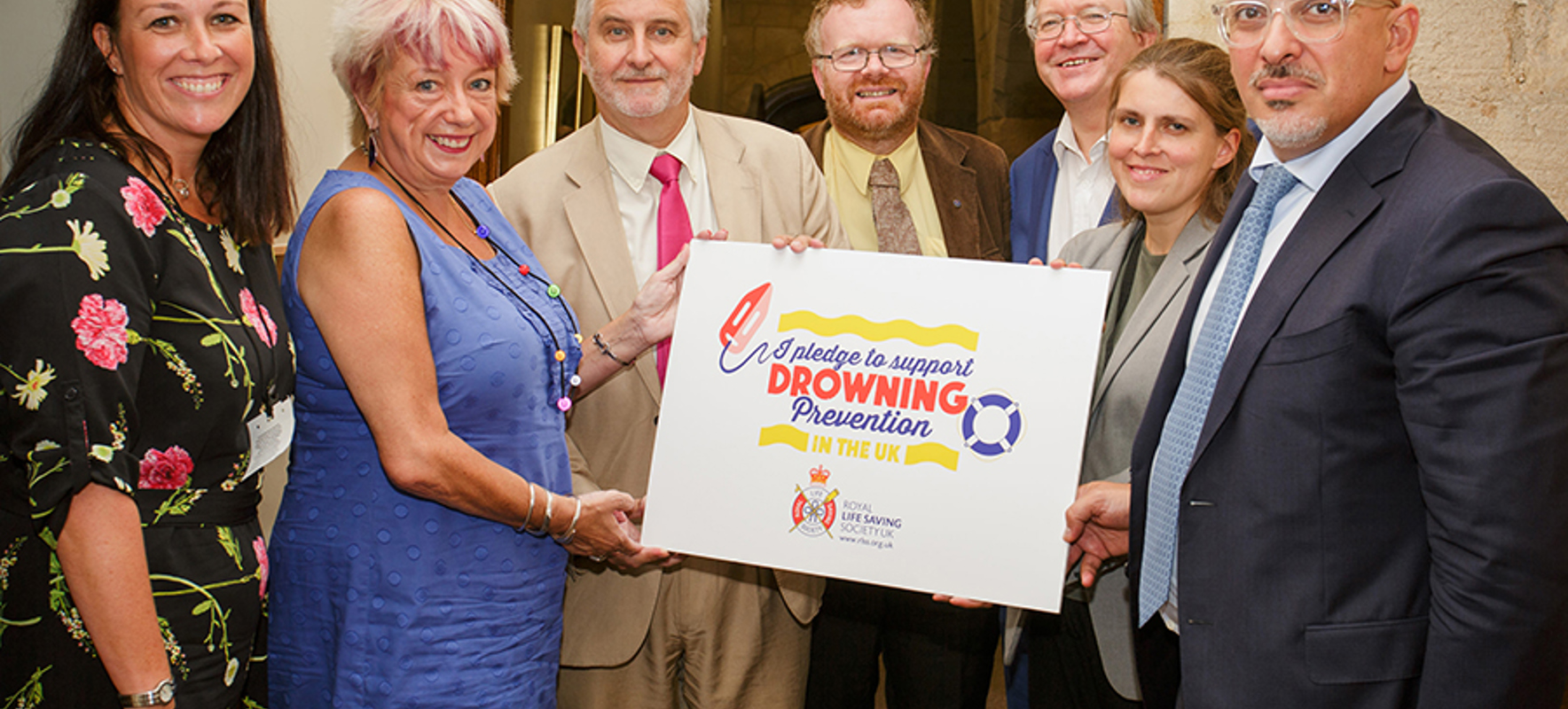 MPs pledge support to the Royal Life Saving Society UK after charity's trip to Westminster
