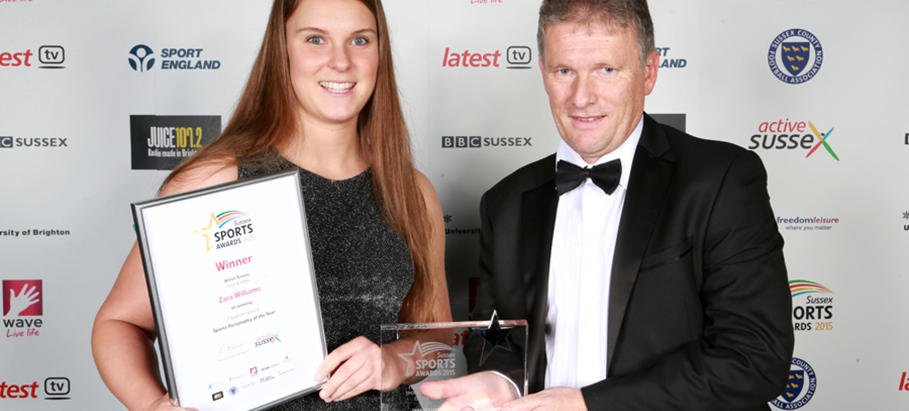 Winners crowned at Sussex Sports Awards