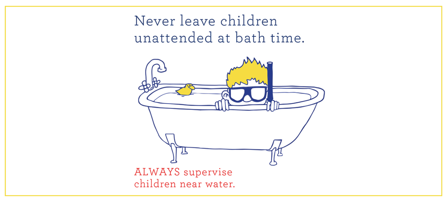 Drowning prevention charity supporter warns parents for its national Spring Clean campaign