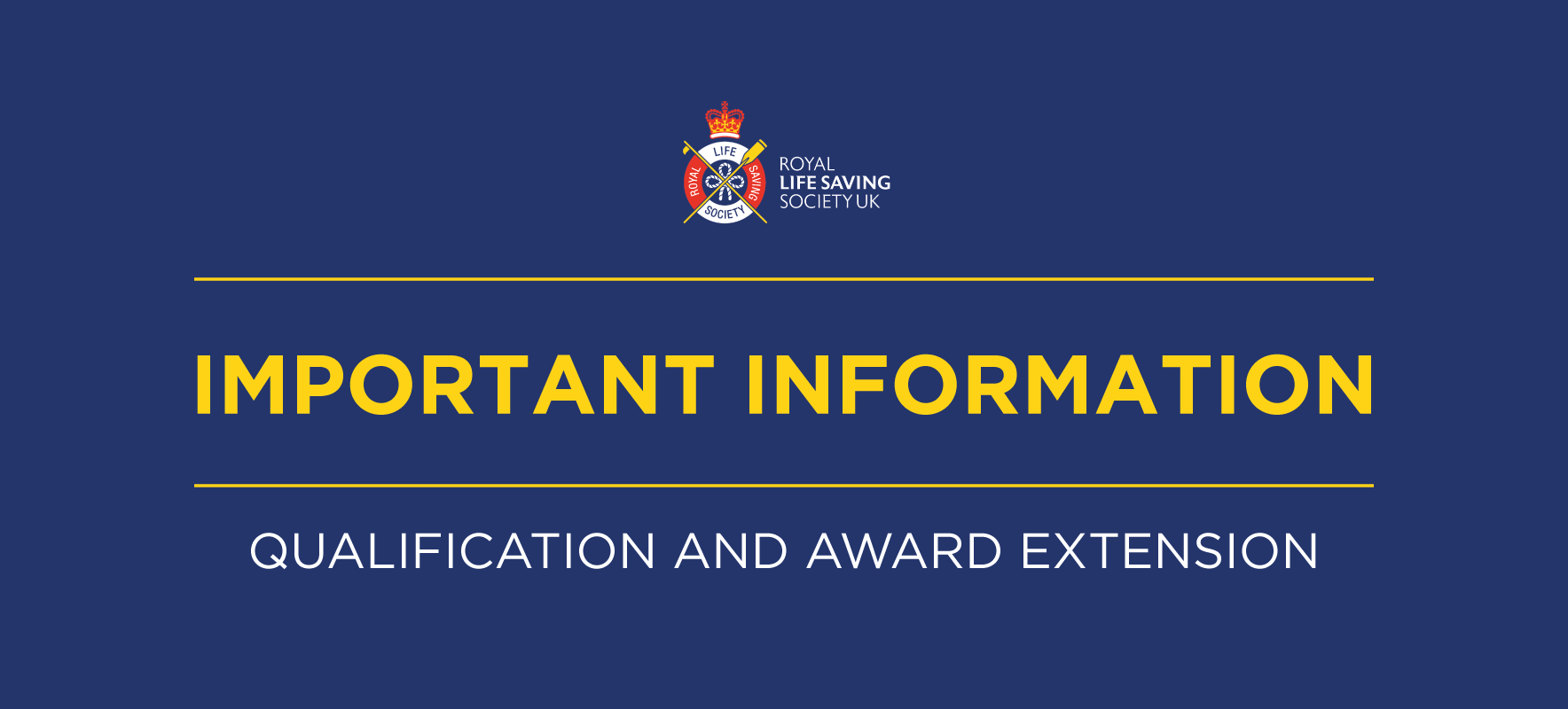 Information about qualification expiry dates