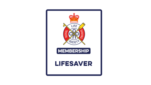 Lifesaver Membership - Financially supporting our lifesaving work