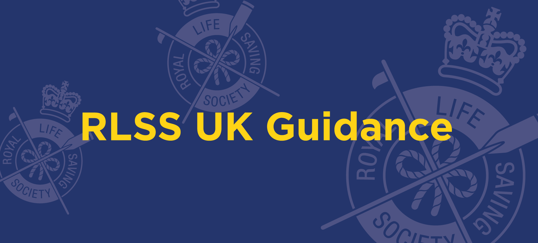 RLSS UK is working with industry experts to prepare clear guidance for safety, supervision and training after lockdown.