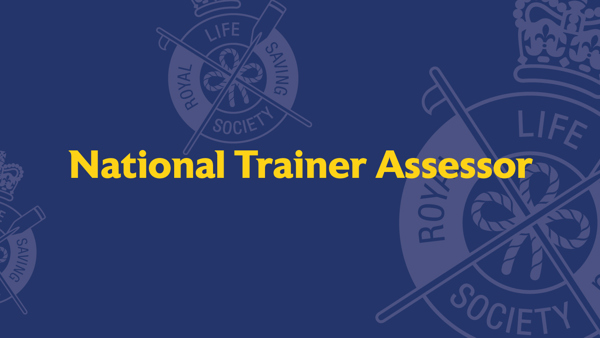 National Trainer Assessor Course,  11 and 12 August 2021