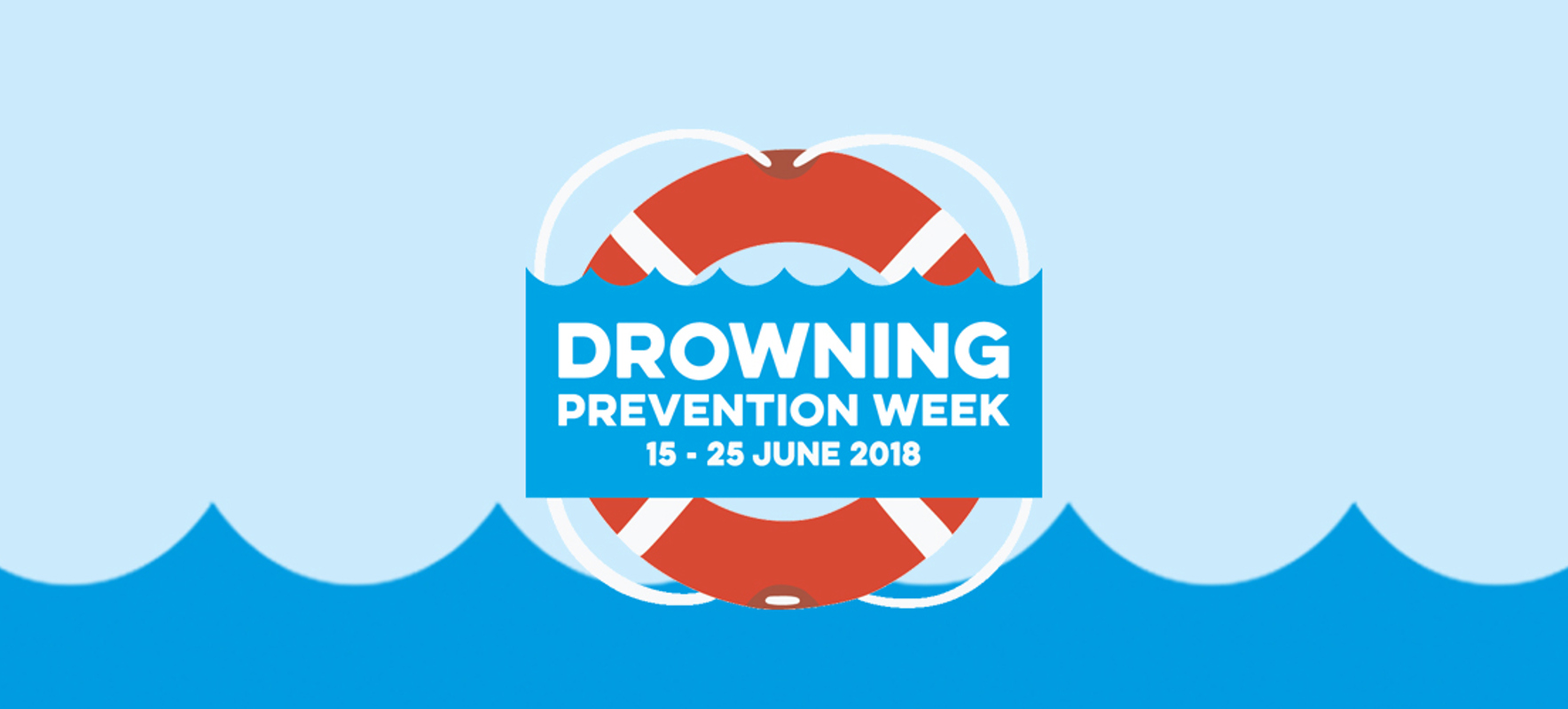 It's your last chance to sign up and support Drowning Prevention Week!