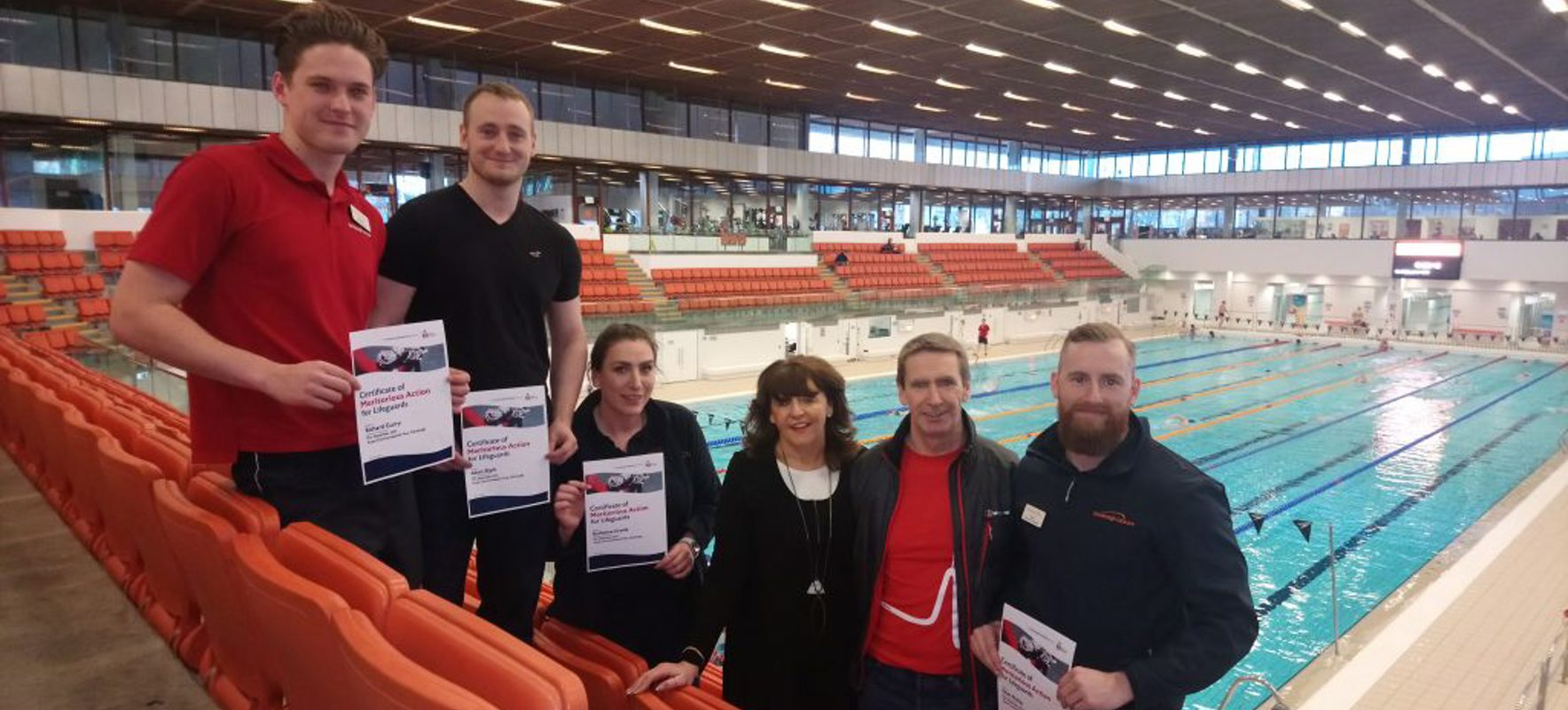 Edinburgh Leisure staff awarded highest accolade after saving customer's life