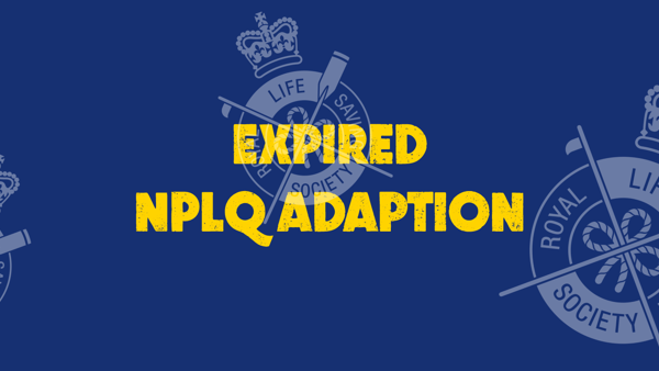 Expired National Pool Lifeguard Qualification (NPLQ) Adaption