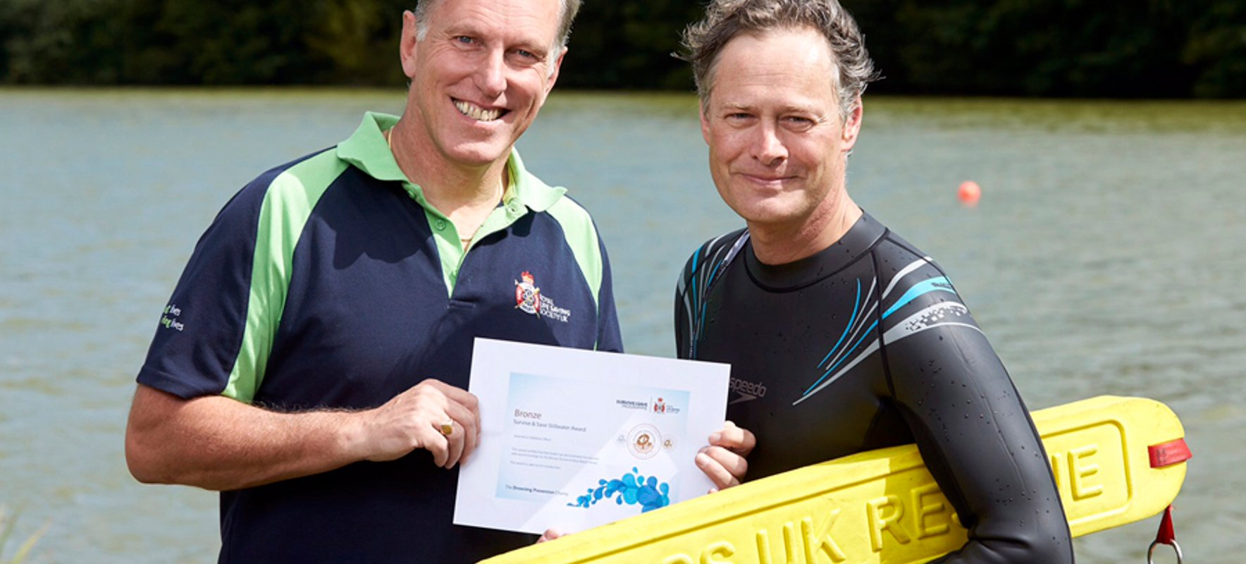 Hendon MP learns essential lifesaving skills with Drowning Prevention Charity