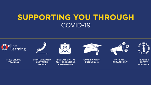 Committed to supporting our lifesaving and lifeguarding communities through COVID-19 (coronavirus)