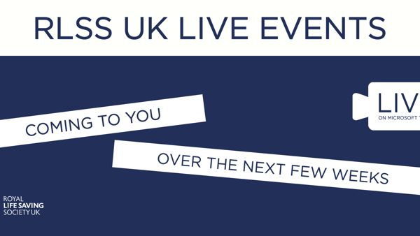 RLSS UK Live events