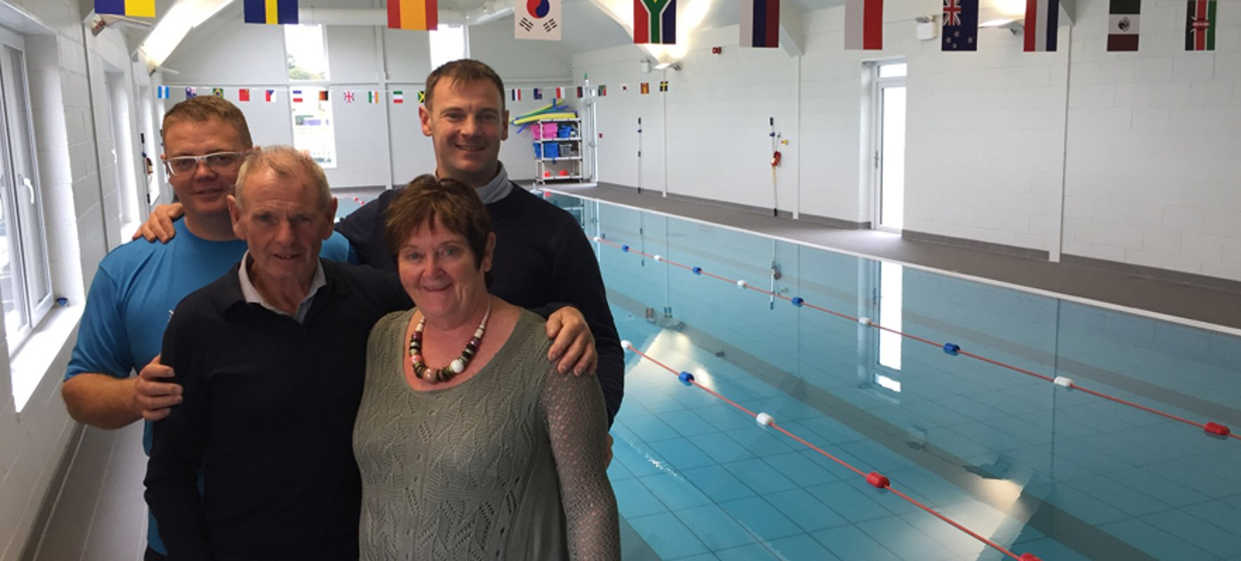 Award-winning open water swimmer opens his own swimming centre