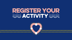 Register your Fundraising activity