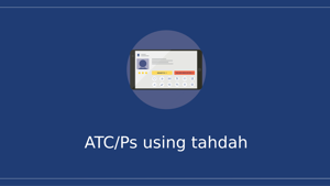 ATC/Ps using tahdah