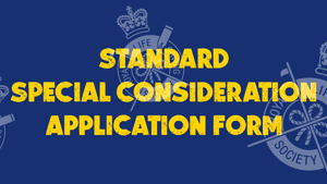Special Consideration Application Form